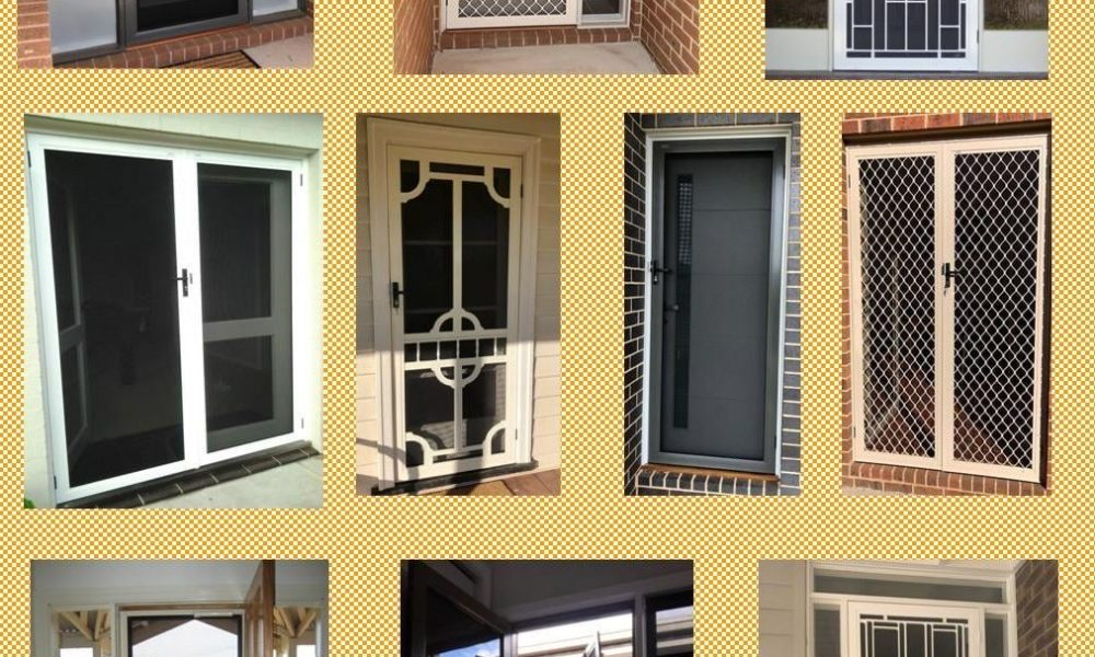 echuca-security-doors-collage